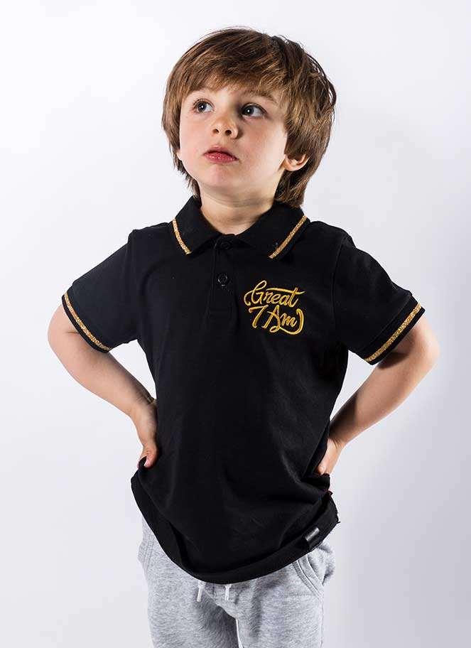 POLO BLACK GOLD KIDS GREAT I AM - Great I Am