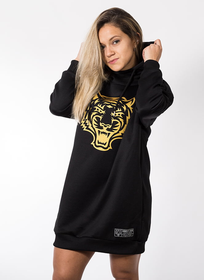 HOODIE OVERSIZE TABBY TIGER