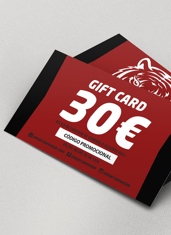 GIFT CARD 30€ - Great I Am