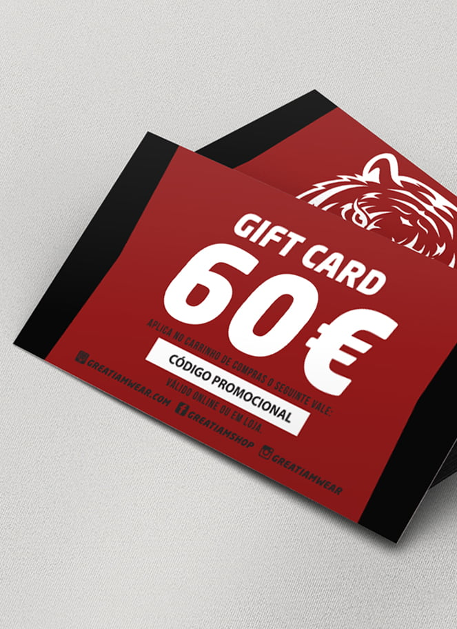 GIFT CARD 60€ - Great I Am