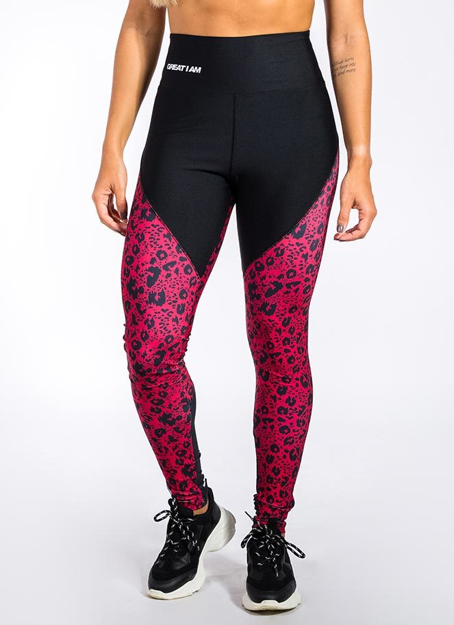 OUTFIT BODY RED CHEETAH