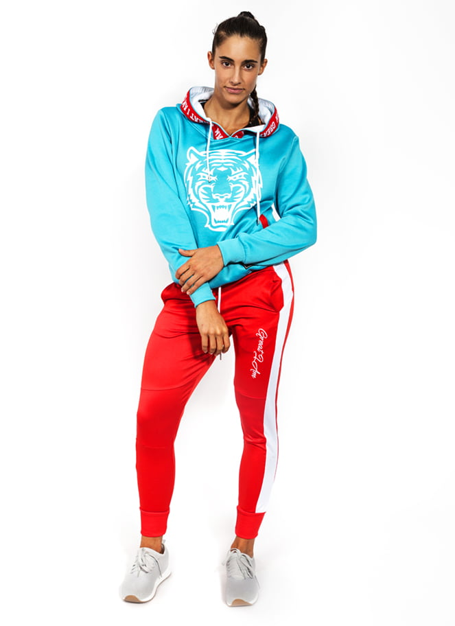 OUTFIT TIGER CYAN
