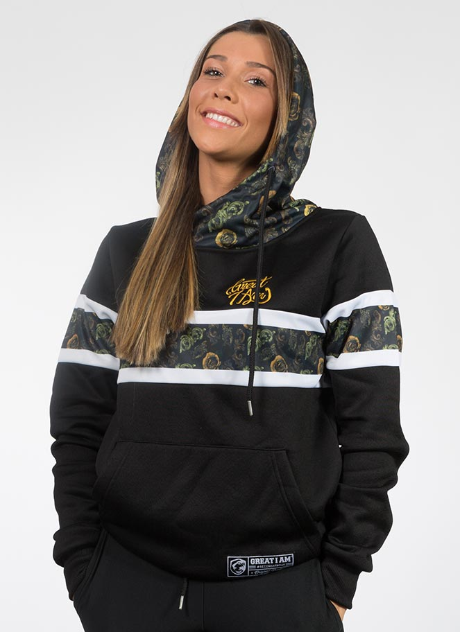 HOODIE CARVED GOLD WOMEN - Great I Am