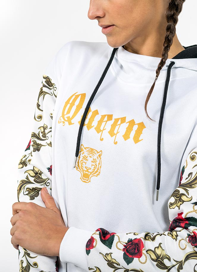 HOODIE OVERSIZE MAJESTIC QUEEN - Great I Am