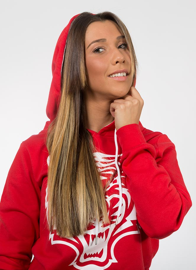 HOODIE TIGER WOMAN - Great I Am