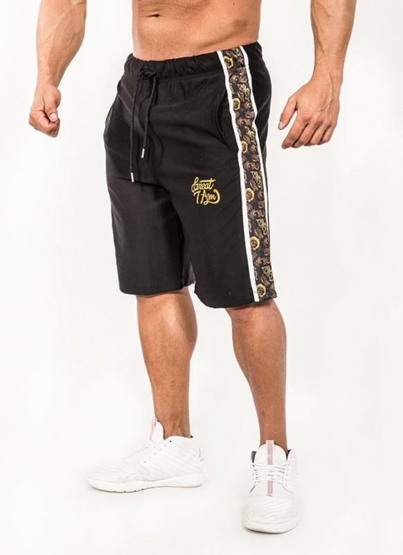 SHORTS CARVED GOLD