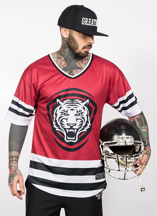 AMERICAN JERSEY GIA 20 RED - Great I Am