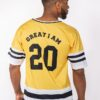 AMERICAN JERSEY GIA 20 YELLOW - Great I Am