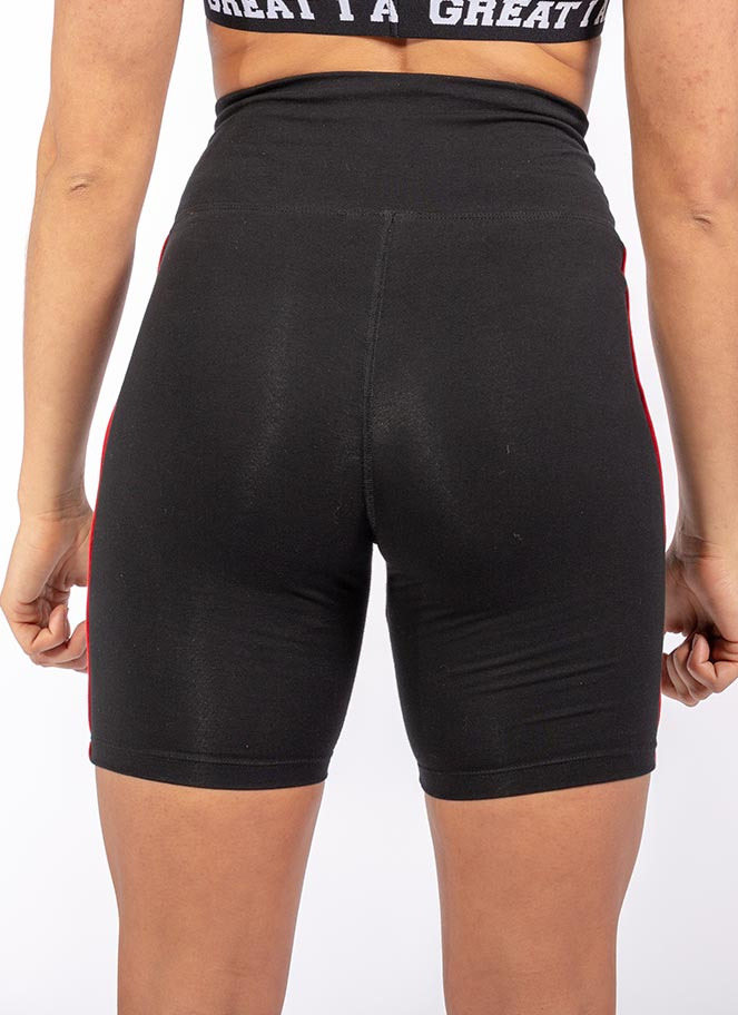 LONG SHORTS BASIC BLACK - Great I Am