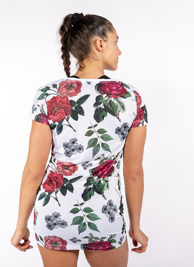OVERSIZE TEE GIA FLOWERS - Great I Am