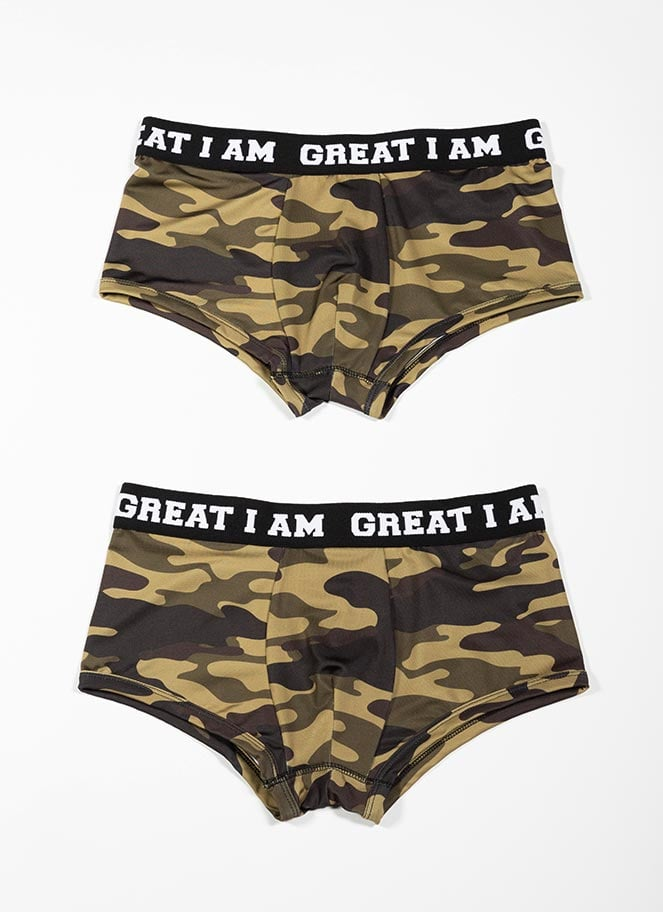 PACK 2 BOXERS CAMO - Great I Am