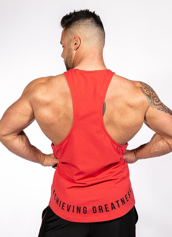 STRINGER INSIGNIA RED - Great I Am