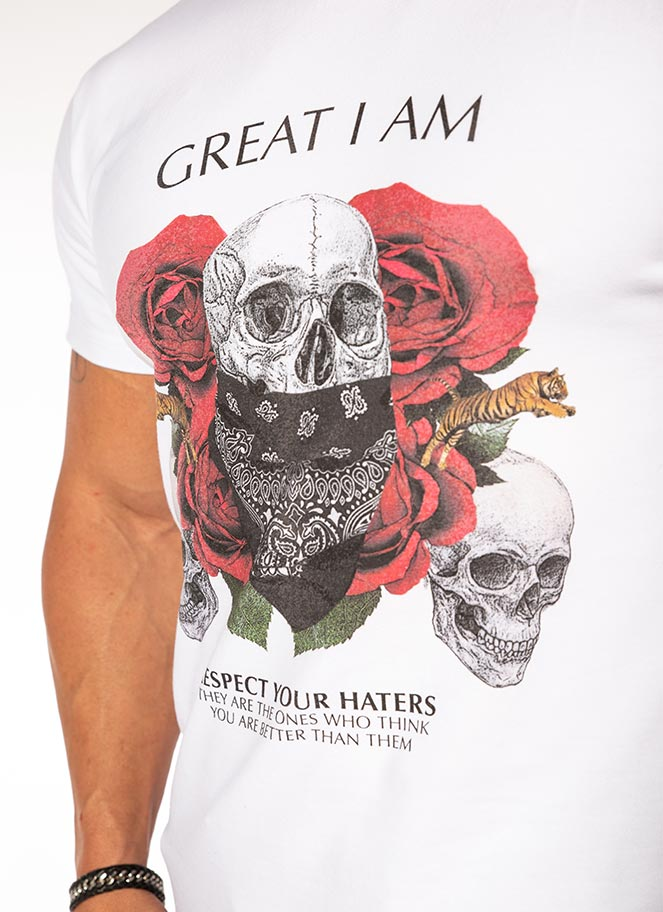 T-SHIRT RESPECT YOUR HATERS - Great I Am