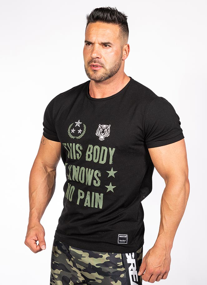T-SHIRT THIS BODY KNOWS NO PAIN - Great I Am