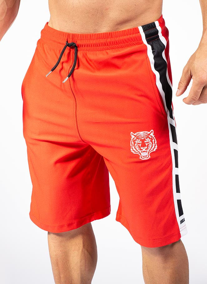 WORKOUT SHORTS GIA RED - Great I Am