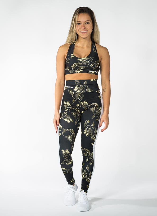 OUTFIT FLORAL GOLD - Great I Am