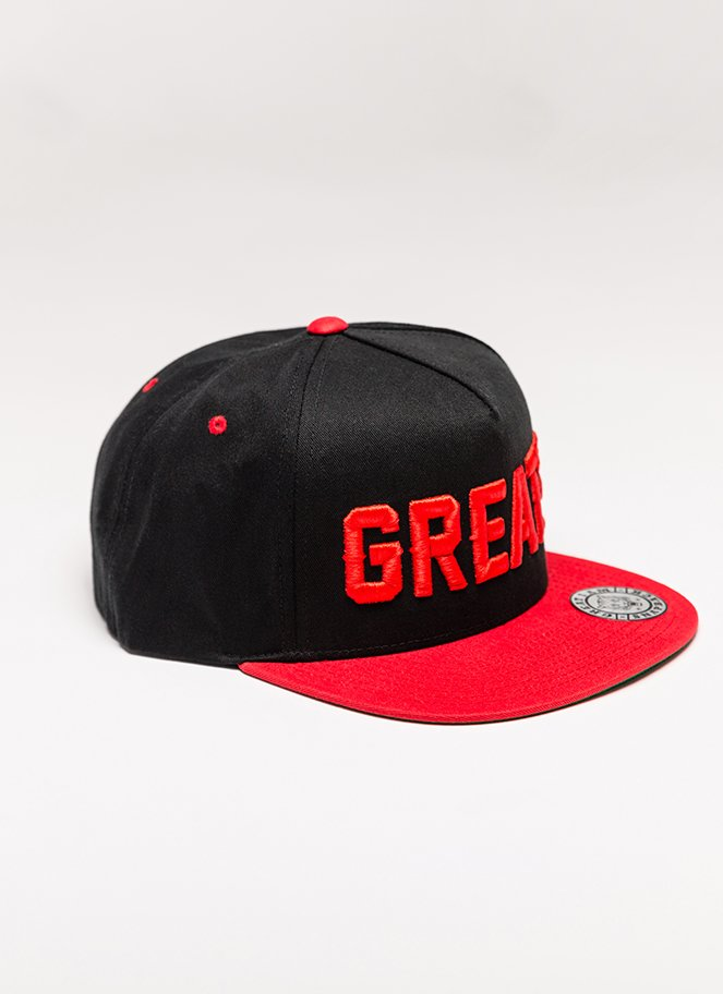 Snapback Great I Am Red on Black - Great I Am