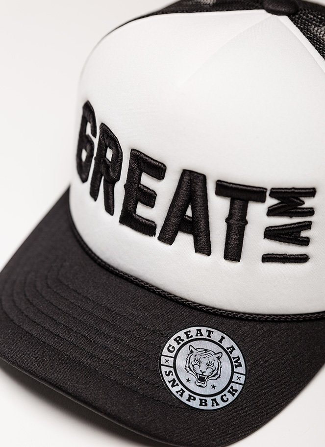 Trucker GREAT I AM Black and White - Great I Am