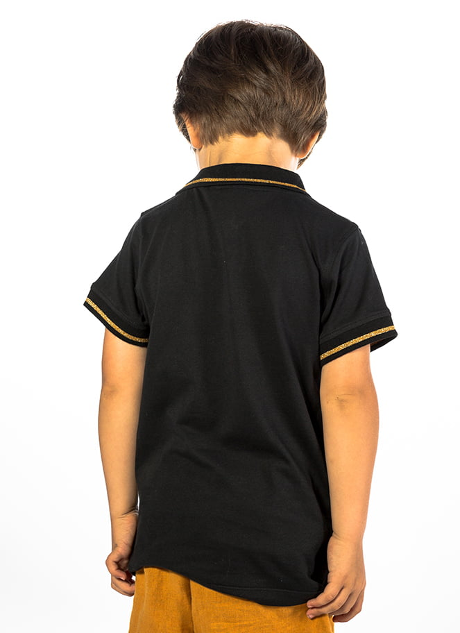POLO KIDS GOLDEN BLACK - Great I Am