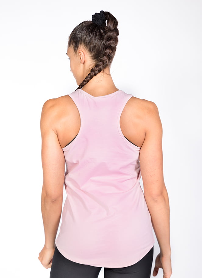 SOFT TANKTOP BASIC PINK - Great I Am