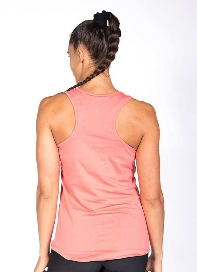 SOFT TANKTOP BASIC SALMON - Great I Am