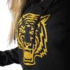 CAMISOLA COM CAPUZ CROPPED TIGER BLACK - Great I Am