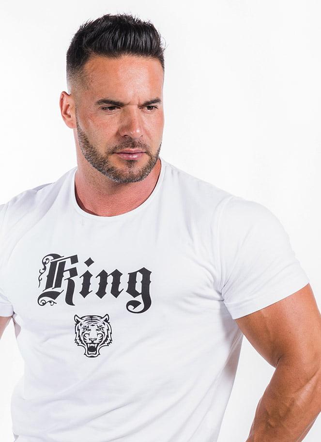 T-SHIRT KING STARS - Great I Am