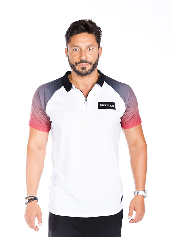 POLO PREMIUM RED - Great I Am