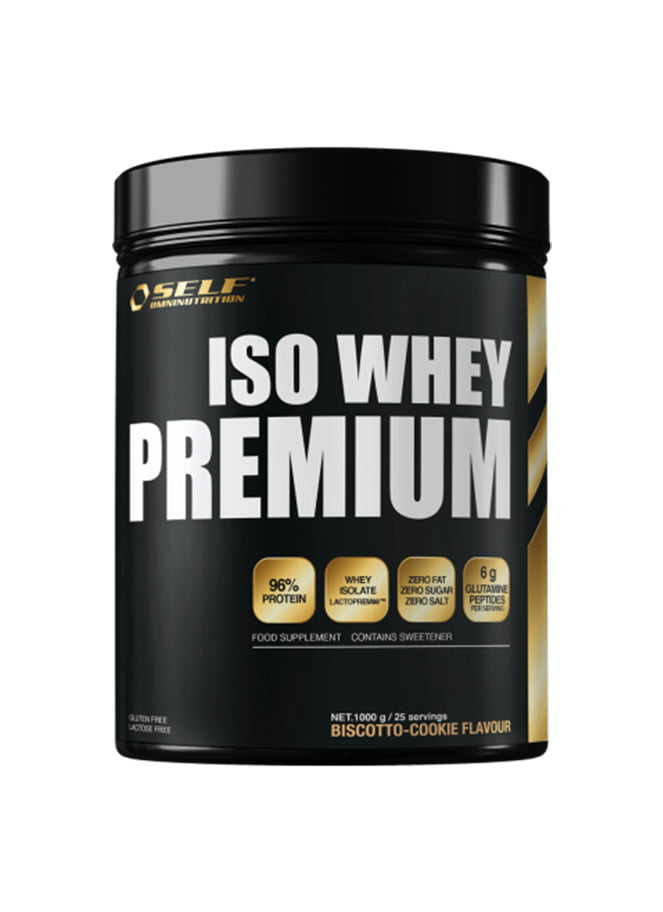 Iso Whey Premium (1kg) | SELF - Great I Am