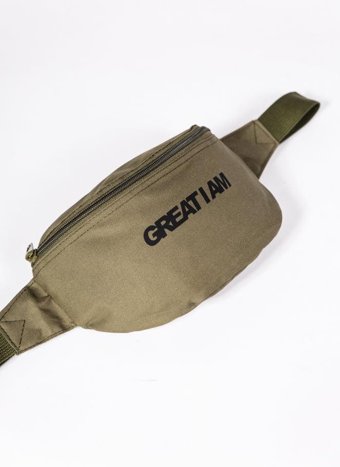 BOLSA DE CINTURA ESSENTIAL GREEN - Great I Am