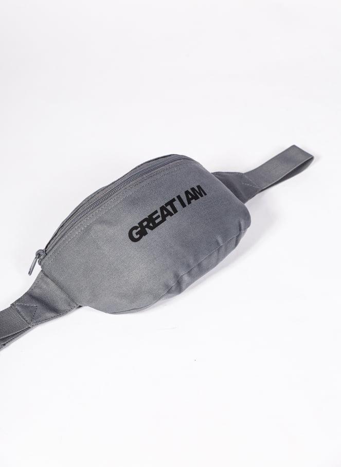 BOLSA DE CINTURA ESSENTIAL GREY - Great I Am
