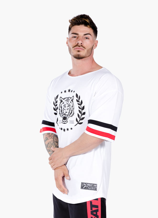 AMERICAN JERSEY HEAVY WEIGHT WHITE - Great I Am