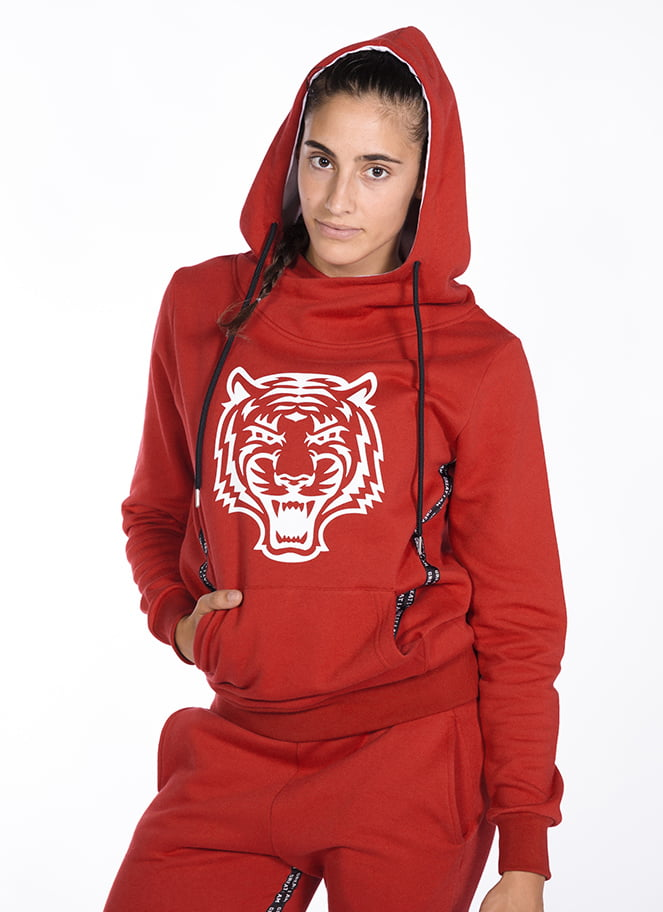 HOODIE TIGER RUBY - Great I Am