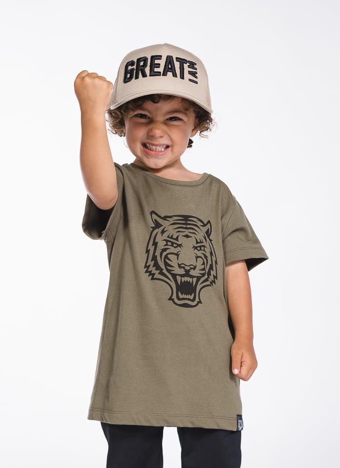 T-SHIRT LOGO ARMY KID - Great I Am