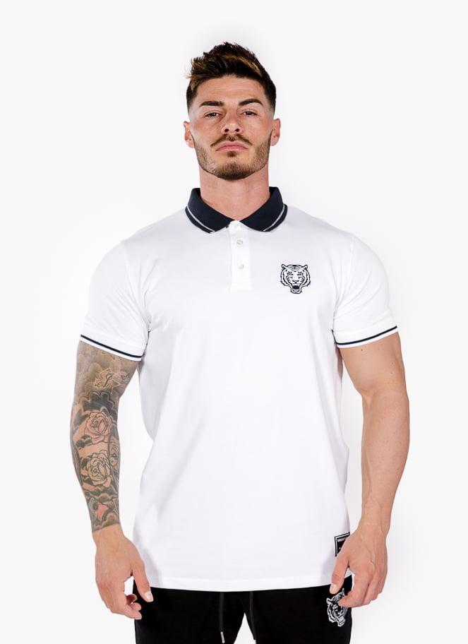 POLO NAVAL WHITE - Great I Am