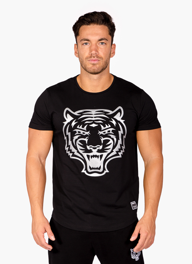 T-SHIRT SILVER TIGER - Great I Am
