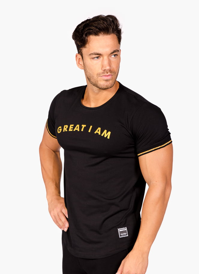 T-SHIRT STANDARD GOLD - Great I Am