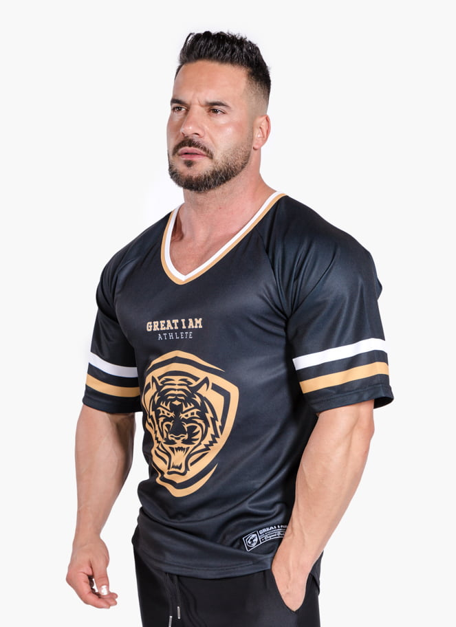 AMERICAN JERSEY RESPECT 7 BLACK - Great I Am