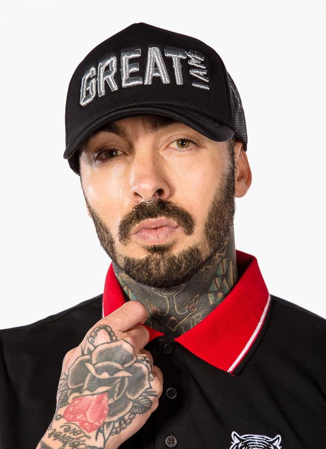 POLO CLÁSSICO BLACK - Great I Am