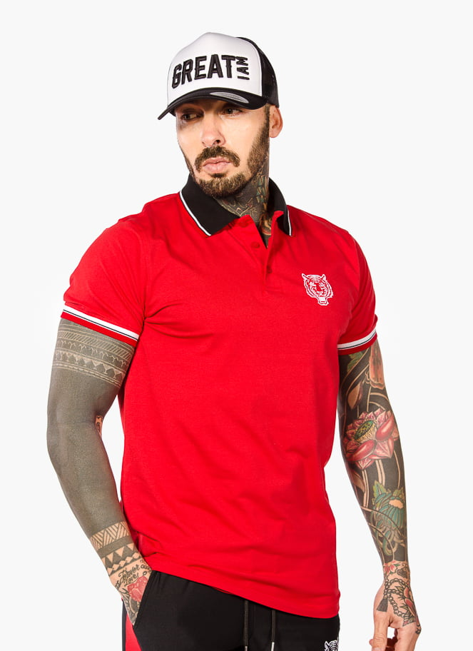 POLO CLÁSSICO RED - Great I Am