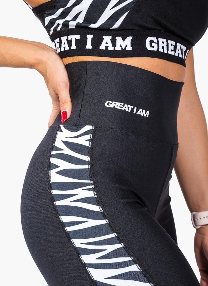 MALLA CINTURA ALTA ZEBRA PRINT - Great I Am