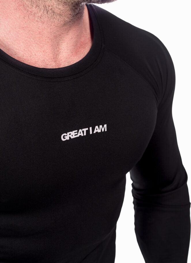 RASHGUARD GIA BLACK - Great I Am