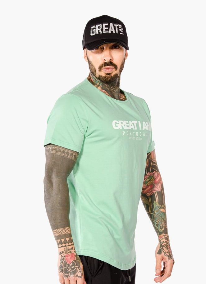 T-SHIRT PORTUGAL GREEN - Great I Am
