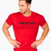 T-SHIRT PORTUGAL RED - Great I Am