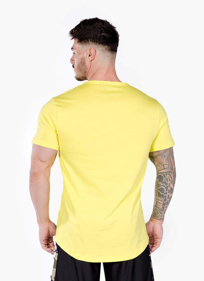 T-SHIRT PORTUGAL YELLOW - Great I Am
