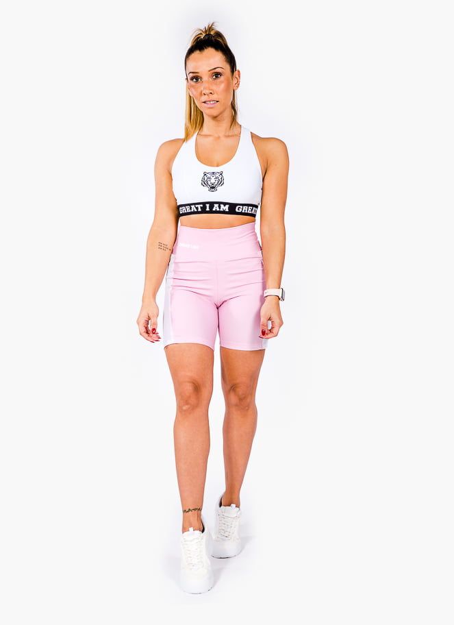 CONJUNTO WHITE AND PINK - Great I Am