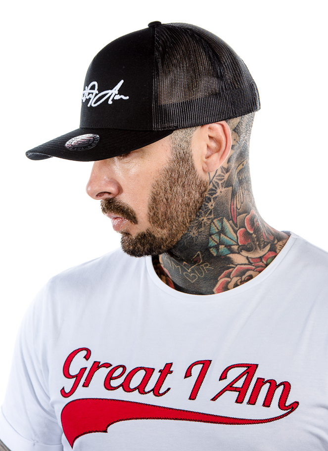 TRUCKER WHITE SIGNATURE - Great I Am