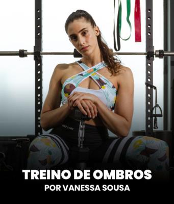 Entrenamiento de hombros por Vanessa Sousa 💪 - Great I Am
